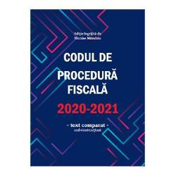 Codul de procedura fiscala 2020-2021 imagine librarie clb