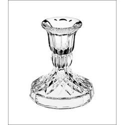 Sfesnic din cristal de Boemia Fabricat din cel mai fin cristal din Cehia va reflecta intr-o maniera unica lumina lumanarilor asezate in el