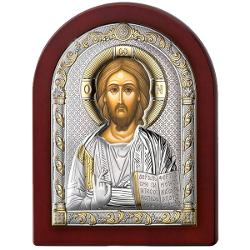 Icoana Argint Isus 12x16cm AuriuDimensiuni 12x16x2cm