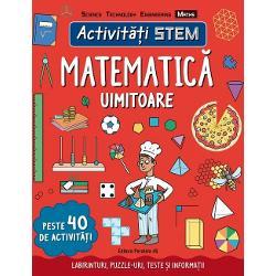 Dac&259; e&537;ti pasionat de jocurile logice &537;i de puzzle-uri dac&259; observi mereu tipare &537;i serii de numere atunci matematica este pentru tinePreg&259;te&537;te-te s&259; parcurgi o serie de activit&259;&539;i care te vor purta din geroasa Antarctic&259; p&226;n&259; la rachetele din spa&539;iu Vei &238;nv&259;&539;a despre multipli &537;i divizori vei programa computere &537;i vei explora o insul&259; cu ajutorul coordonatelor &206;n aceast&259;