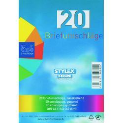 Format 114x162mm4 culorix5 plicuriAmbalare 20 plicuri in foliede plastic
