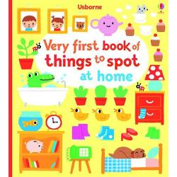 A look-and-talk book for very young children with simple bright illustrations and lots to see and spot on every page Children can spot everyday household items in various rooms around the house Perfect for sharing with little children and will help them learn new words and develop vital pre-reading skills