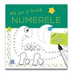 Cartea M&259; joc &537;i înv&259;&539; NUMERELE provoac&259; to&539;i copiii cu vârstele peste 4 ani s&259; se distreze &537;i s&259; înve&539;e prin jocCartea este amuzant&259; &537;i totodat&259; educativ&259; stimulând creativitatea &537;i intui&539;ia copiilor prin jocAcest tip de joc dezvolt&259; abilit&259;&539;i de motricitate îl ajut&259; pe copil s&259; înve&539;e numerele într-un mod atractiv