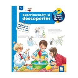 În aceast&259; carte profesorul &536;tie-Tot îi invit&259; pe copiii curio&537;i s&259; efectueze 30 de experimente care ilustreaz&259; câteva dintre propriet&259;&539;ile de baz&259; ale aerului &537;i apei folosind materiale care se g&259;sesc în orice gospod&259;rieCopiii sunt oameni de &537;tiin&539;&259; înn&259;scu&539;i pentru c&259; vor s&259; cunoasc&259; totul ce este aerul De ce se aburesc ochelarii Ce sunt