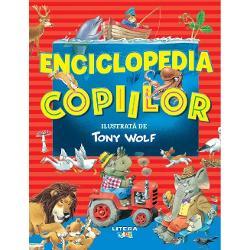 NICIODAT&259; NU A FOST MAI U&536;OR SA ÎNVE&538;IAceast&259; minienciclopedie minunat ilustrat&259; de Tony Wolf îi va ajuta pe cei mai mici cititori s&259; descopere lumea &537;i s&259; înve&539;e multe cuvinte noi