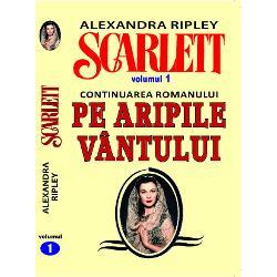 """Alexandra Ripley continua impresionanta si tulburatoarea saga a celebrului """"Pe aripile vantului"""" cea mai frumoasa poveste de dragoste de la Romeo si Julieta incoaceScarlett reprezinta o carte asteptata de toti cei care doreau ca romanul autoarei Margaret Mitchell sa nu se termineSi daca in """"Pe aripile vantului"""" fermecatorul Rhett Butler nu o mai iubeste pe Scarlett si o paraseste lasand-o cu inima zdrobita"""