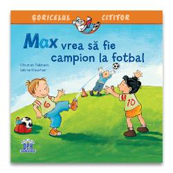 Max vrea s&259; fie campion la fotbal face parte din seria &536;oricelul cititor – pove&537;ti care explic&259; lumea din jurul nostru &537;i ofer&259; un divertisment extraordinar micilor fani ai fotbalului cu vârsta peste 3 aniMax tr&259;ie&537;te aventuri care vin din lumea micilor cititori deoarece mul&539;i copii ador&259; jocul de fotbal &537;i bineîn&539;eles competi&539;ia pentru c&259; fiecare copil î&537;i dore&537;te s&259;
