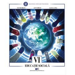 Manual educatie sociala clasa a VI a editia 2021 Bratude Victor Bratu Alina Bratu Elena LupsaEdituraDidactica si Pedagogica
