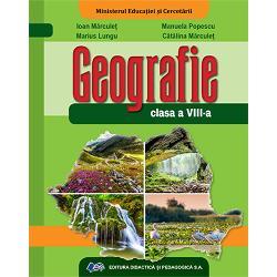 Manual geografie clasa a VIII aEdituraDidactica si Pedagogica