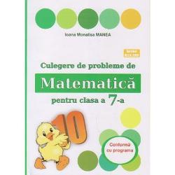 Culegere de probleme de matematica pentru clasa a VII a editia 2021 Puisor