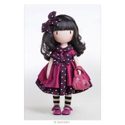 This beautiful doll is an exquisite 3D recreation of the original Ladybird artwork complete with lifelike flowing hair delicate hands intoed stance and striped socksIncludes spotty hair bow party dress net underskirt frilled knickers striped socks pink Mary Janes and ladybird printed handbagDeveloped and produced in Spain by highly skilled craftspeopleMade from soft vinyl with articulated limbsDelicately fragranced with rose & honeysuckle
