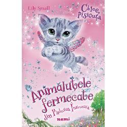 Pisicuta Chloe serie Animalute Fermecate din Padurea Inrourata