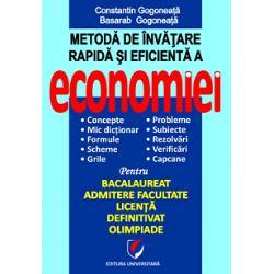 Metode de invatare rapida si efeicienta a economiei imagine librarie clb