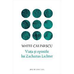 """""""Încercând s&259; explic ideea de Lichter… tentativa de-a face incredibilul credibil de a justifica pozi&355;ia cea mai dificil&259; de a crea un «sfânt» din perspectiva unui necredincios de a construi o psihologie &351;i o logic&259; profetic&259; dintr-o perspectiv&259; sceptic&259; Succesul unei astfel de întreprinderi se m&259;soar&259; dup&259; tenta&355;ia final&259; a autorului de a se converti la filozofia personajului"""