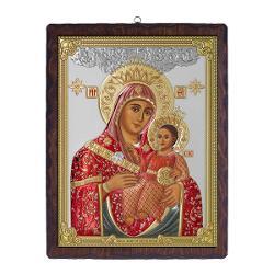 Icoana Argint Maica Domnului Betleem 17×215cm Color