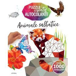 P&259;trunde în labirintul de autocolante al acestei c&259;r&539;i &537;i vei descoperi uimitoare opere de art&259; cubiste reprezentând animale &537;i p&259;s&259;ri precum leul girafa pas&259;rea colibri vulturul ple&537;uv &537;i alteleFiecare pagin&259; cuprinde imagini incredibil de detaliate cu spa&539;ii goale rezervate autocolantelor a&537;a c&259; relaxeaz&259;-te d&259; frâu liber imagina&539;iei &537;i bucur&259;-te s&259; vezi