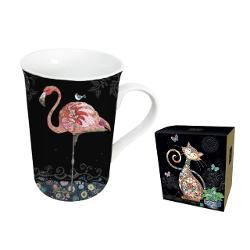 Cana din portelean in cutie Bug Art Flamingo BUG0267