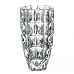 Vaza Diamond 28cm Bohemia Este ambalata intr-o cutie de cadou ce contine elemente de protectie pentru transport in siguranta