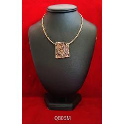 Colier zamac aurit aur antic 42 7cm qb05m