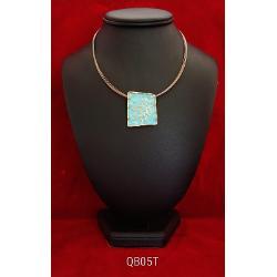 Colier zamac aurit aur antic 42 7cm qb05t