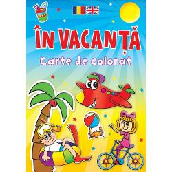 Aceasta carte cuprinde multe imagini distractive care asteapta sa fie colorate Paginile sunt perforate pentru a le putea impartii cu prietenii Colorati si invatati cuvinte in romana si engleza