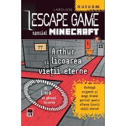 Escape game - Arthur si licoarea vietii eterne
