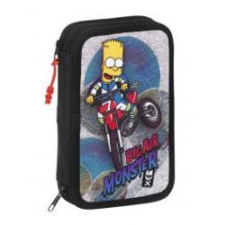 Penar dublu echipat 34 piese The Simpsons 20.5x13.5x4.5cm 411505054 imagine librarie clb