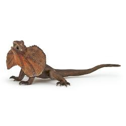 Figurina Papo - Soparla cu gulerJucarie educationala realizata manual excelent pictata si poate fi colectionata de catre copii sau adaugata la seturile de joaca cum ar fi dragoni mutanti etc