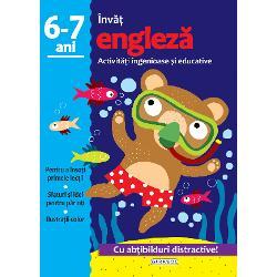 Activitati ingenioase si educative - Engleza 6-7ani