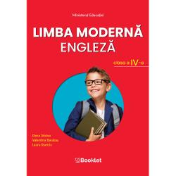 Manualul de Limba modern&259; englez&259; – clasa a IV-a este câ&537;tig&259;tor al licita&539;iei organizate de Ministerul Educa&539;iei &537;i aprobat prin OM nr 514530082021Manualul propune un studiu integrat al limbii engleze abordând probleme de vocabular &537;i de gramatic&259; potrivite nivelului de în&539;elegere al copiluluiTemele abordate respect&259; în totalitate programa &537;colar&259; în vigoare &537;i