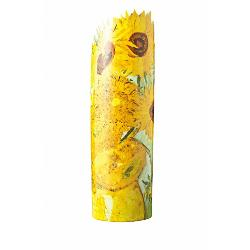 This stunning Van Gogh Sunflowers Vase is part of the 'Silhouette d'Art Movseion' collection by John Beswick depicting world renowned masterpieces A perfect gift for all occasions and looks truly wonderful with or without flowersSize Height 25 cm Width 8 cm
