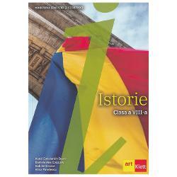 Manualul de istorie pentru clasa a VIII-a propune o manier&259; modern&259; de abordare didactic&259; a con&539;inutului disciplinei o tratare ce vizeaz&259; dezvoltarea cognitiv&259; &537;i atitudinal-valoric&259; a elevilor de gimnaziuFaptele istorice din istoria românilor sunt prezentate prin expuneri adecvate nivelului de vârst&259; dar &537;i prin intermediul diferitelor surse istorice h&259;r&539;i texte ilustra&539;ii etc