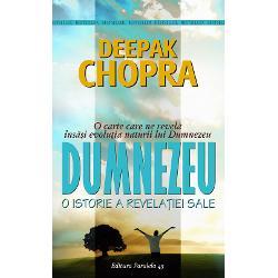 Deepak Chopra a c&259;rui impresionant&259;&160;serie Iluminare include bestseller-ul fenomenal Buddha &537;i Iisus ofer&259;&160;de aceast&259;&160;dat&259;&160;publicului cel mai puternic titlu al colec&539;iei DUMNEZEU Un frumos &537;i intens roman de &238;nv&259;&539;&259;minte o Poveste a Revela&539;iei scris&259;&160;de cel mai ilustru maestru al filosofiei orientale un preeminent factor de referin&539;&259;&160;&238;n domeniul