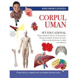 Descopera stiinta. Corpul uman. Set educational