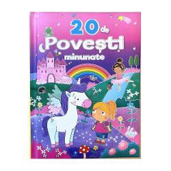 O carte fabuloasa cu povesti ce pot fi citite de parinti alaturi de copii inainte de culcareFiecare poveste are text clar si ilustratii minunate care vor incanta in mod sigur copiii