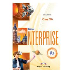 DENUMIRENEW ENTERPRISE A2AUDIO CD LA MANUAL  SET DE 3 CD-URI ISBN 978-1-4715-6975-3New Enterpriseis a course for young adult and adult learners of English at CEFR Levels A1 - B2 The series maintains and enriches the original approach adding a variety of new features to meet the demands of todays adultsKey Features12 theme-based unitsVariety of reading texts accompanied by videos