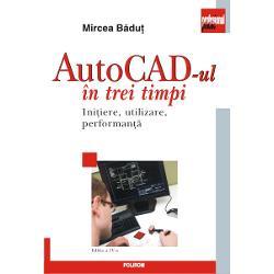 Lucrarea cuprinde noutatile ultimelor versiuni de AutoCAD fiind destinata celor interesati de proiectarea asistata de calculator si
