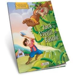 Jack si vrejul de fasole Povesti clasice de colorat
