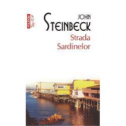 John Steinbeck a primit Premiul Nobel pentru Literaturain anul1962RomanulStrada Sardinelora fost ecranizat in regia lui David S Ward cu Nick Nolte in rolul principalPersonajele din romanulStrada Sardinelorspan stylecolor