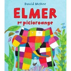 """""""Te pr&259;p&259;de&537;ti de râs Junior BookshelfVin vân&259;torii &537;i to&355;i elefan&355;ii sunt speria&355;i Elmer elefantul multicolor are un plan cu care sper&259; s&259;-i p&259;c&259;leasc&259; pe vân&259;tori dar lucrurile nu ies chiar a&537;a cum a pl&259;nuit…"""