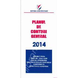 Planul de conturi este aprobat prin OMFP Nr 30552009 pentru aprobarea reglementarilor contabile conforme cu directivele europeneFormat Pliant - 8x16 cmAnul publicarii 2014Nr pagini 12