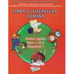 Limba si literatura romana manual pentru clasa a IV a semestrul I