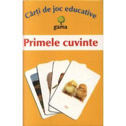 Carti de joc educative - Primele cuvinte sunt special concepute pentru cei mai mici dintre copii Acestia vor invata usor cu ajutorul imaginilor Contine 5 categorii de imagini ferma zoo bucatarie camera de baie dormitor Sunt propuse jocuri pe 3 grade de dificultate