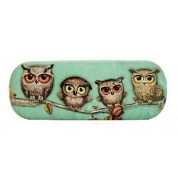 Book Owls Etui ochelari 6x17x3cm 344EC09 imagine librarie clb