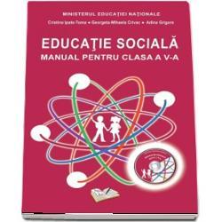 Manual educatie sociala clasa a V a  CD