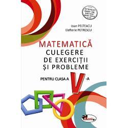 Culegere de matematica clasa a V a