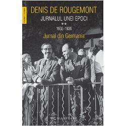 În 1935-1936 Denis de Rougemont accept&259; un post de lector de literatur&259; francez&259; la Frankfurt nu în ultimul rând din dorin&539;a de a fi martor al istoriei în deplin&259; cuno&537;tin&539;&259; de cauz&259; Jurnalul s&259;u înregistreaz&259; pas cu pas semnele unei istorii care a luat-o razna de la micile &537;i marile la&537;it&259;&539;i cotidiene pân&259; la spectacolul înfrico&537;&259;tor al mul&539;imilor