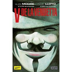 Scriitura inteligent&259; a lui Alan Moore se combin&259; excelent cu extraordinarele ilustra&539;ii ale lui David Lloyd în acest roman distopic devenit un clasicV de la Vendetta e o poveste impresionant&259; despre libertate o carte-cult esen&539;ial&259; nu doar pentru fanii romanelor grafice ci &537;i pentru cititorii pasiona&539;iÎntr-un viitor distopic dup&259; ce fa&539;a Planetei a fost schimbat&259; de un r&259;zboi devastator în