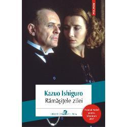 Traducere din limba englez&259; de Radu ParaschivescuPremiul Nobel pentru Literatur&259; 2017Ap&259;rut în Anglia în 1989 romanul a primit în acela&351;i an prestigiosul Booker Prize &351;i a fost transpus cinematografic în
