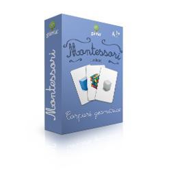 Corpuri geometrice Carti de joc educative Montessori Seria 4